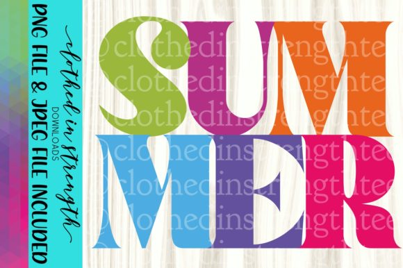 Summer | Colorful Summer | Summertime Graphic Crafts By bmillsap2008