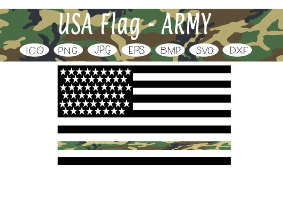 Print on Demand: USA Flags - Army Graphic Illustrations By CapeAirForce