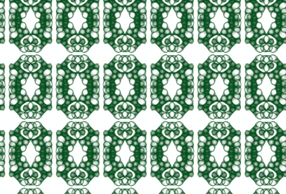 Print on Demand: Art Nouveau Geometric Pattern Graphic Patterns By lunarctic