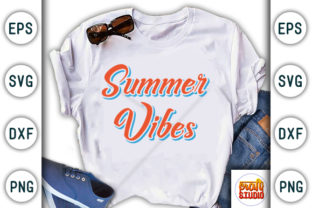 Download Free Summer Vibes Summer Beach Quote Design Graphic By Craftstudio for Cricut Explore, Silhouette and other cutting machines.