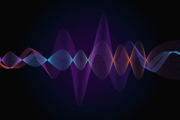 Download Free Voice And Sound Wave Recognition Graphic By Frog Ground for Cricut Explore, Silhouette and other cutting machines.