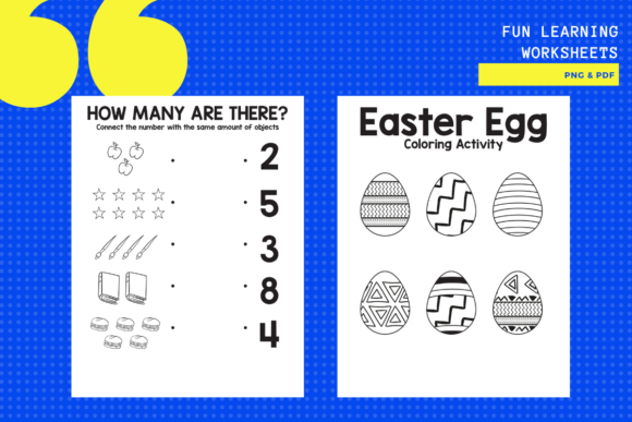 Download Free 5 Fun Learning Worksheets Graphic By Yumbeehomeschool Creative Fabrica for Cricut Explore, Silhouette and other cutting machines.