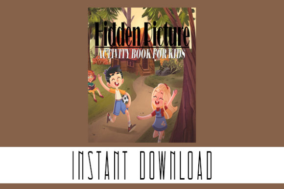 Hidden Pictures a Puzzles Coloring Pages Graphic Coloring Pages & Books Kids By Rabbit Art