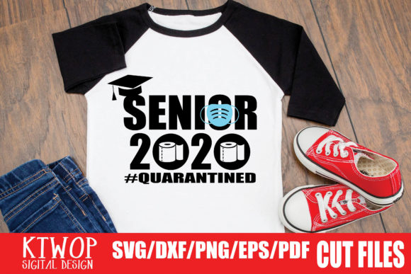 Senior 2020 Mask Quarantined Graphic By Ktwop Creative Fabrica