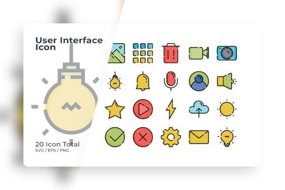 User Interface Icon Sets Graphic Icons By Ongy