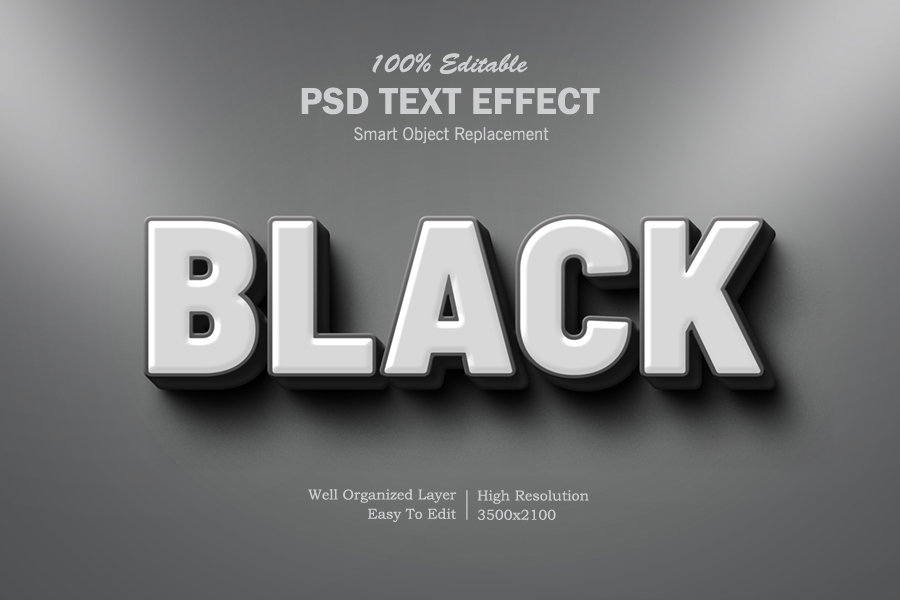 Download Free 3d Back Text Effect Graphic By Goldani412 Creative Fabrica for Cricut Explore, Silhouette and other cutting machines.
