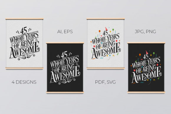Download Free 11 Year Birthday Anniversary Typo Set Graphic By Creator for Cricut Explore, Silhouette and other cutting machines.