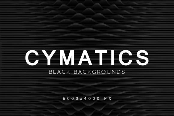 Download Free Cymatics Black Backgrounds 2 Graphic By Artistmef Creative Fabrica for Cricut Explore, Silhouette and other cutting machines.