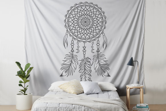 Download Free Dream Catcher Vector Files Graphic By Foundream Creative Fabrica for Cricut Explore, Silhouette and other cutting machines.
