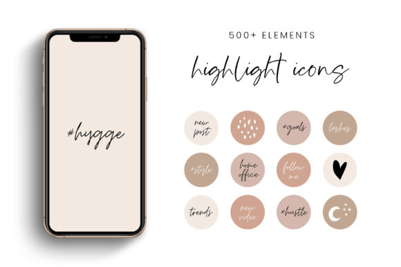 Download Free Earth Tones Instagram Story Covers Graphic By Stylishdesign for Cricut Explore, Silhouette and other cutting machines.