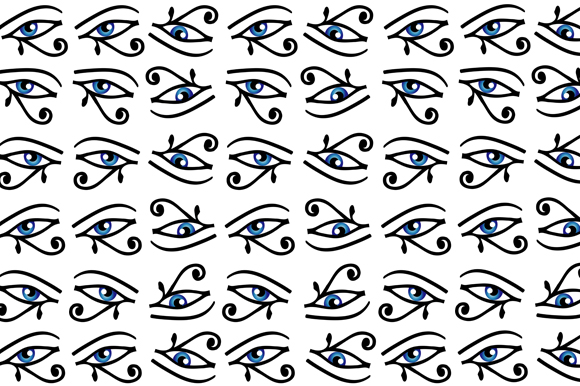 Download Free Egyptian Eye Background Graphic By Shawlin Creative Fabrica for Cricut Explore, Silhouette and other cutting machines.