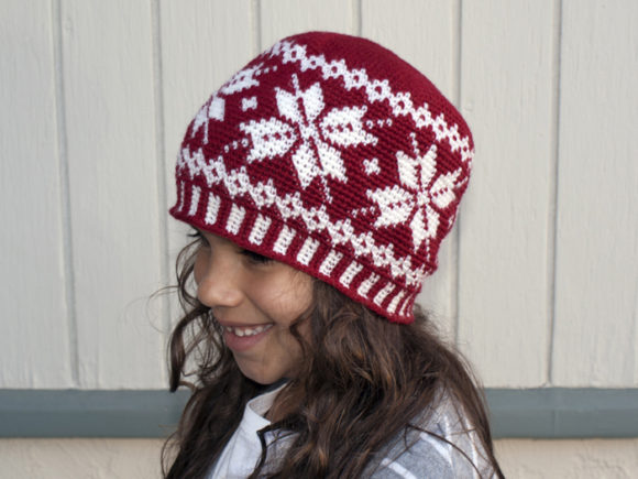 Frozen Snowflakes Crochet Pattern Graphic Crochet Patterns By Knit and Crochet Ever After - Image 3