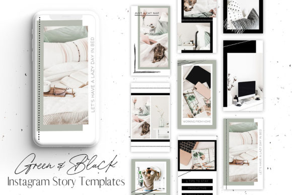 Download Free Instagram Story Templates For Canva Graphic By Blush Created for Cricut Explore, Silhouette and other cutting machines.