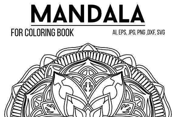 Print on Demand: Mandala Graphics 58 Graphic Coloring Pages & Books By stanosh