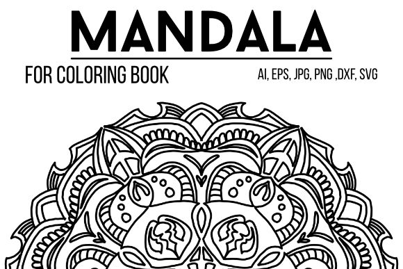 Download Free Mandala Graphics 59 Graphic By Stanosh Creative Fabrica SVG Cut Files