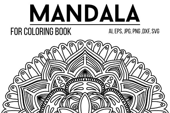 Print on Demand: Mandala Graphics 68 Graphic Coloring Pages & Books By stanosh - Image 1