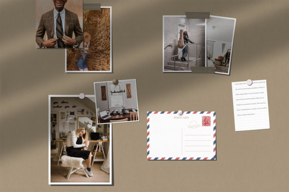 Moodboard Mockup Graphic Preview