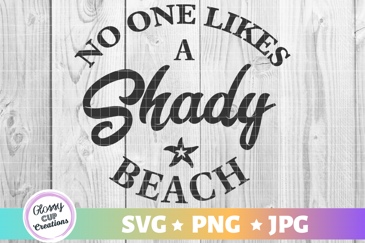 Download Free No One Likes A Shady Beach Graphic By Suzannecornejo Creative for Cricut Explore, Silhouette and other cutting machines.