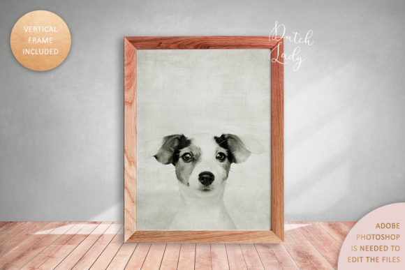 Print on Demand: Art Frame Mockup Set #4 Graphic Product Mockups By daphnepopuliers - Image 2