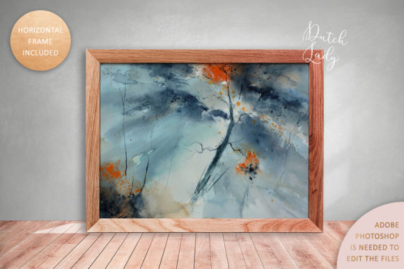 Print on Demand: Art Frame Mockup Set #4 Graphic Product Mockups By daphnepopuliers - Image 3