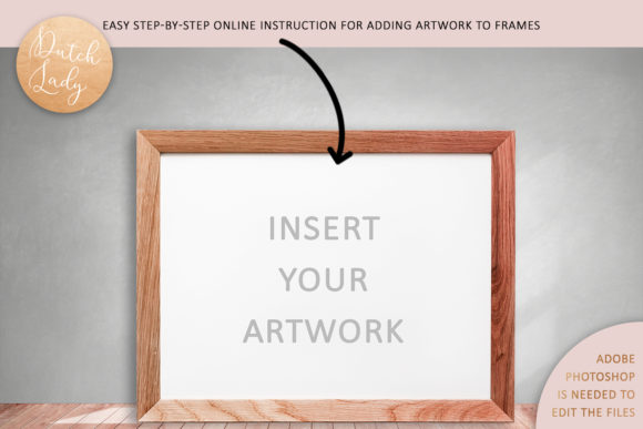 Print on Demand: Art Frame Mockup Set #4 Graphic Product Mockups By daphnepopuliers - Image 5