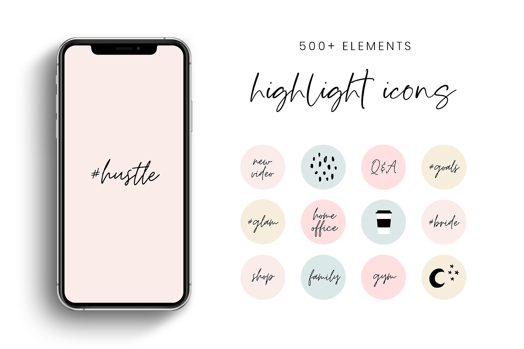 Download Free Pastel Instagram Story Highlight Icons Grafik Von Stylishdesign for Cricut Explore, Silhouette and other cutting machines.