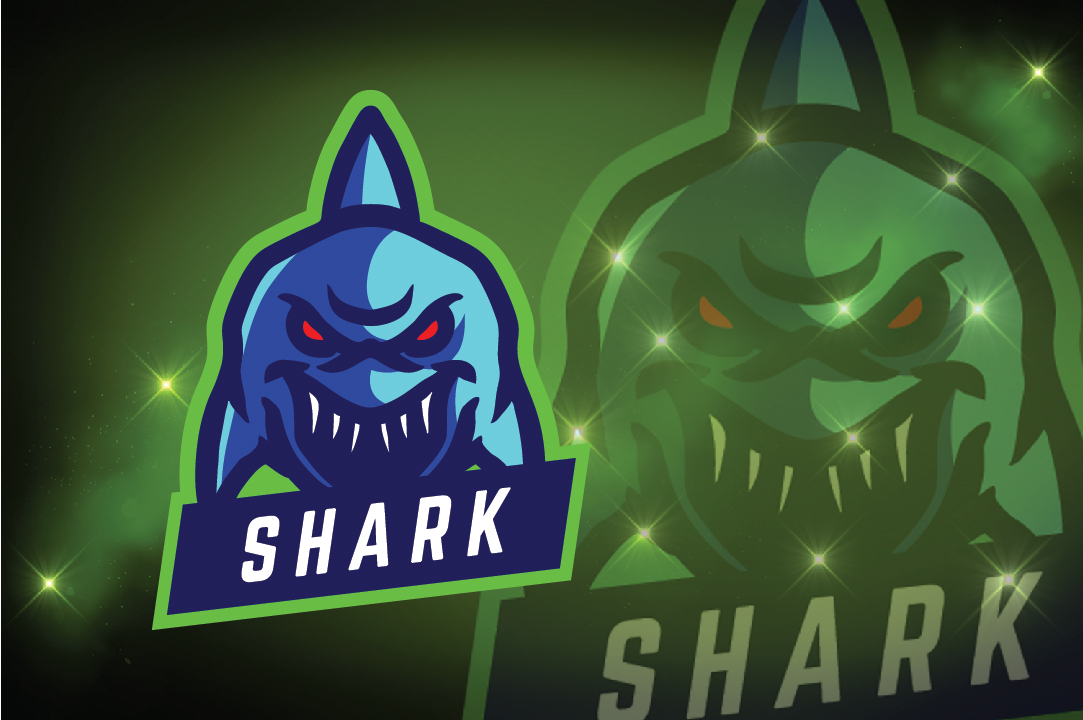 Download Free Shark Logo Esport Graphic By Remarena Creative Fabrica for Cricut Explore, Silhouette and other cutting machines.