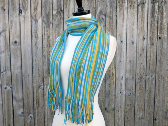 Simply Striped Scarf Crochet Pattern Graphic Crochet Patterns By Knit and Crochet Ever After