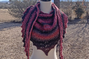 Solitude Shawl Knit Pattern Graphic Knitting Patterns By Knit and Crochet Ever After