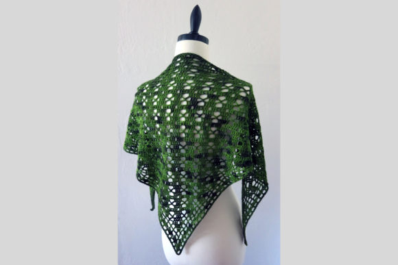 Spring Shawl Crochet Pattern Graphic Crochet Patterns By Knit and Crochet Ever After