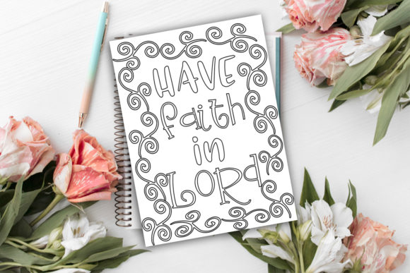 Print on Demand: Stay Home Coloring Pages Graphic Coloring Pages & Books Kids By Happy Printables Club - Image 3