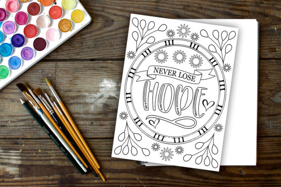 Print on Demand: Stay Home Coloring Pages Graphic Coloring Pages & Books Kids By Happy Printables Club - Image 4