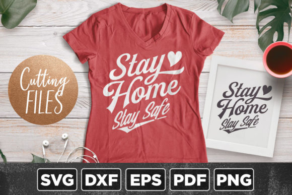 Download Free Stay Safe Graphic By Asaelvaras Creative Fabrica for Cricut Explore, Silhouette and other cutting machines.