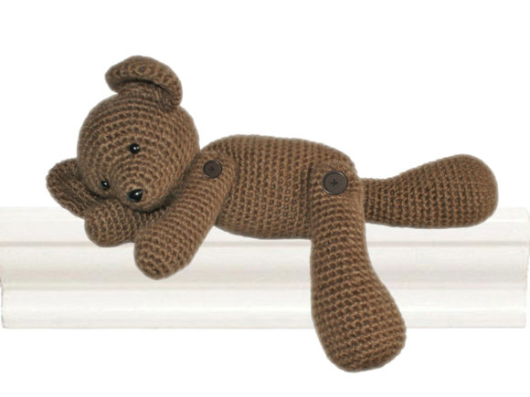 Teddy the Heirloom Bear Crochet Pattern Graphic Crochet Patterns By Knit and Crochet Ever After - Image 1