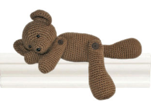 Teddy the Heirloom Bear Crochet Pattern Gráfico Patrones de crochet Por Knit and Crochet Ever After
