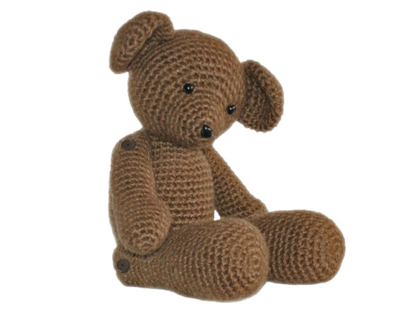 Teddy the Heirloom Bear Crochet Pattern Graphic Crochet Patterns By Knit and Crochet Ever After - Image 2
