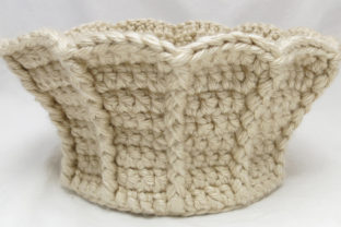 Trumpet Basket Crochet Pattern Graphic Crochet Patterns By Knit and Crochet Ever After