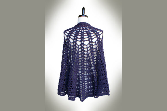 Twilight's Shadow Shawl Crochet Pattern Graphic Crochet Patterns By Knit and Crochet Ever After - Image 1