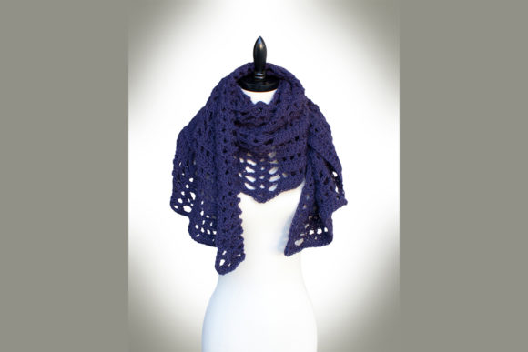 Twilight's Shadow Shawl Crochet Pattern Graphic Crochet Patterns By Knit and Crochet Ever After - Image 2