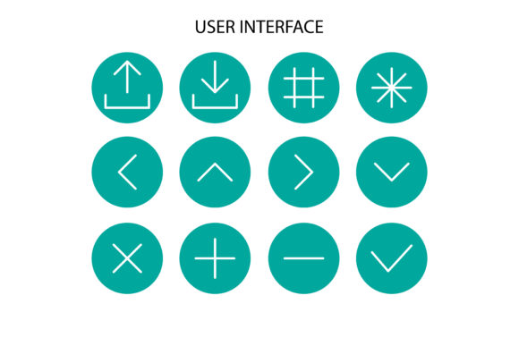 User Interface Icon Graphic Icons By sholicha