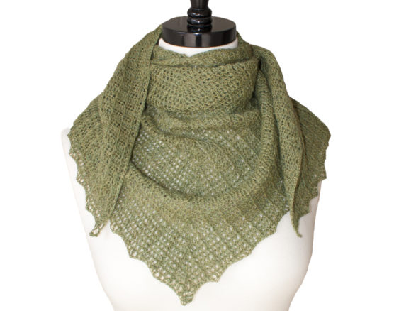Verdant Shawl Crochet Pattern Graphic Crochet Patterns By Knit and Crochet Ever After - Image 1