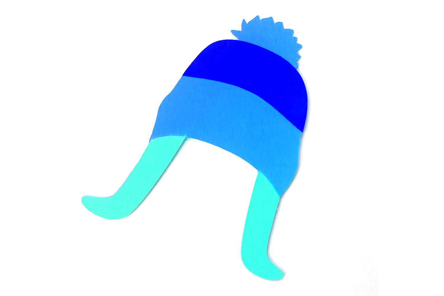 Download Free Winter Hat With Flaps And Pom Pom Graphic By Designedbygeeks for Cricut Explore, Silhouette and other cutting machines.