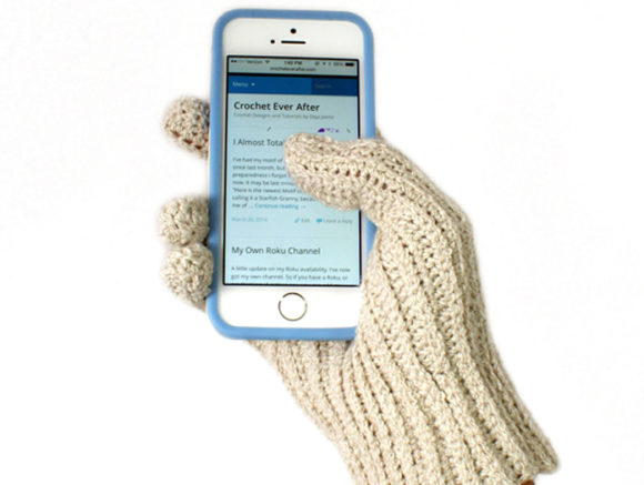 Women's Textable Gloves Crochet Pattern Graphic Crochet Patterns By Knit and Crochet Ever After