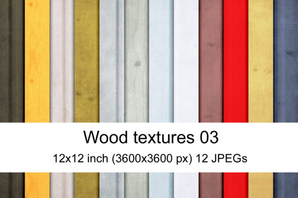 Print on Demand: Wood Texture Graphic Textures By Andrea Kostelic