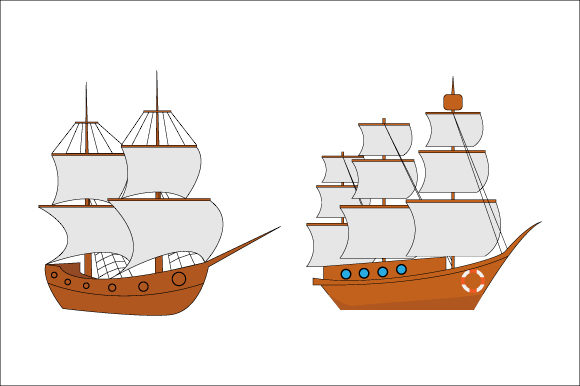 Print on Demand: Pirate Ship Graphic Illustrations By curutdesign