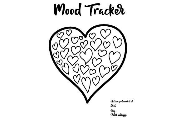 Download Free Mood Tracker Svg Cut File By Creative Fabrica Crafts Creative Fabrica SVG Cut Files