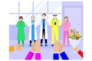 Download Free Appreciation Of Doctors And Nurses Graphic By Redvy Creative for Cricut Explore, Silhouette and other cutting machines.