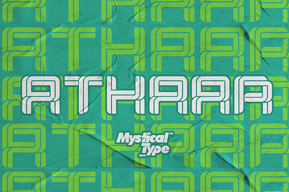 Print on Demand: Athaar Sans Serif Font By MysticalType