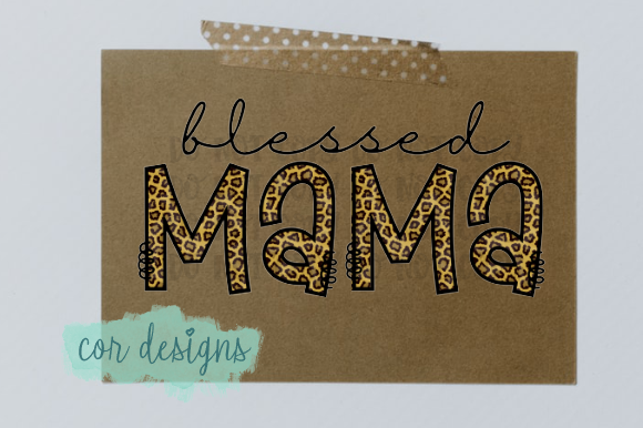 Print on Demand: Blessed Mama Graphic Crafts By designscor
