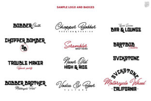 Print on Demand: Bobber Bold & Cubs Script Display Font By inumocca_type 9